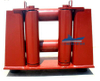 Marine Four Roller Fairleads with Horizontal Rollers