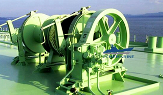 Marine Hydraulic Double Drum Towing Winch