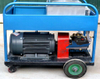 Shipyard Marine Rust Paint Removal Water Sand Jetting High Pressure Machine